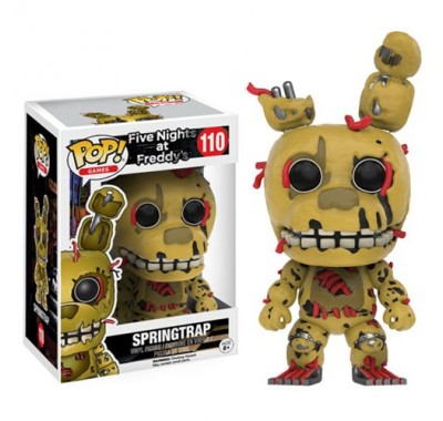 Springtrap из игры Five Nights at Freddy's