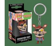 Foxy Rockstar Keychain из игры Freddy Fazbear's Pizzeria Simulator