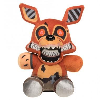 Фокси плюш (Foxy Plush) из книги Пять Ночей у Фредди: Неправильные