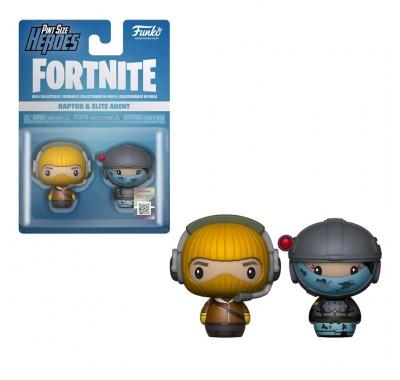 Раптор и Элитный Агент пинт сайз (Raptor and Elite Agent Pint Size Hero 2-pack) из игры Фортнайт