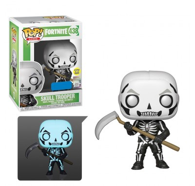 Пехотинец-скелет светящийся (Skull Trooper GitD (Эксклюзив Walmart)) из игры Фортнайт