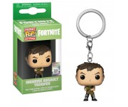 Highrise Assault Trooper keychain из игры Fortnite