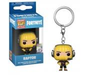 Raptor keychain из игры Fortnite