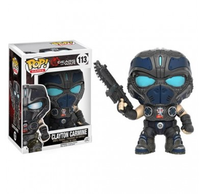 Clayton Carmine из игры Gears of War