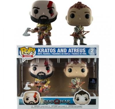 Кратос и Атрей (Kratos Armored and Atreus 2-pack (Эксклюзив)) из игры Бог войны