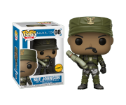 Sgt. Johnson with cigar (Chase) из игры Halo