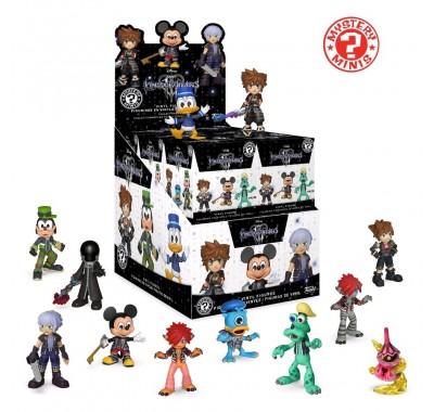Королевство сердец 3 ЗАКРЫТАЯ коробочка мистери минис (Kingdom Hearts III blind box mystery minis) из игры Королевство сердец 3
