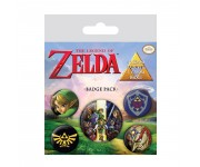 The Legend Of Zelda Badge Pack из игры The Legend of Zelda Nintendo