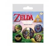 The Legend Of Zelda Badge Pack из игры The Legend of Zelda Nintendo