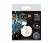 The Legend Of Zelda Badge Pack из игры The Legend of Zelda: Breath Of The Wild Nintendo