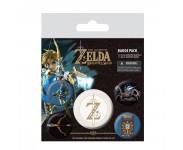 The Legend Of Zelda Badge Pack из игры The Legend of Zelda: Breath Of The Wild Nintendo