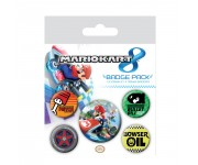Mario Badge Pack из игры Mario Kart 8 Nintendo
