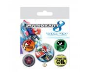 Mario Badge Pack из игры Mario Kart 8 Nintendo