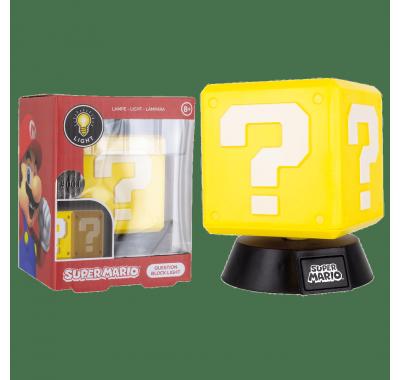 Блок с вопросом светильник (Question Block Icon Light (PREORDER ZS)) из игры Супер Марио Нинтендо