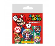 Super Mario Badge Pack из игры Super Mario Nintendo