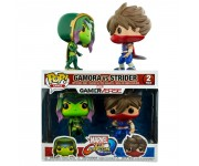 Gamora vs Strider 2-pack из игры Marvel Vs Capcom