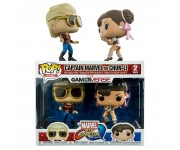 Captain Marvel vs Chun-Li 2-pack из игры Marvel Vs Capcom