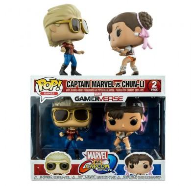 Капитан Марвел против Чун Ли (Captain Marvel vs Chun-Li 2-pack) из игры Марвел против Капком