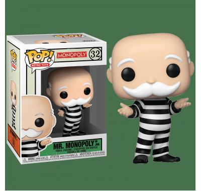 Дядя Толстосум в тюремной робе (Criminal Uncle Pennybags) из игры Монополия