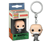 Criminal Uncle Pennybags Keychain из игры Monopoly
