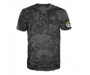 Roadhog Jumbo Black T-Shirt (размер M) из игры Overwatch