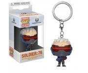 Soldier:76 keychain из игры Overwatch