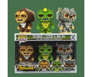 George, Lizzie and Ralph 8-Bit 3-pack (Эксклюзив Walmart) из игры Rampage