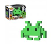 Medium Invader Green 8-Bit из игры Space Invaders