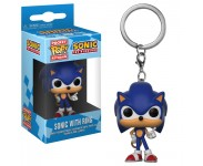 Sonic Keychain из игры Sonic the Hedgehog