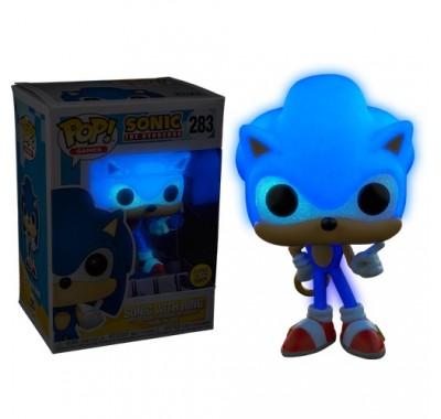 Соник с кольцом светящийся (Sonic with Ring GitD (Эксклюзив) из игры Еж Соник