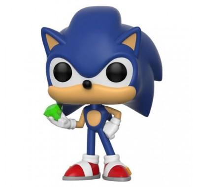 Соник с Изумрудом (Sonic with Emerald) из игры Еж Соник