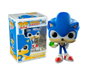 Sonic with Emerald из игры Sonic the Hedgehog