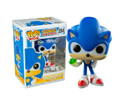 Sonic with Emerald из игры Sonic the Hedgehog