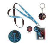Enamel Keychain, Old Republic Emblem patch and Alliance lanyard Set из игры Star Wars: Knights of the Old Republic