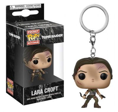 Лара Крофт брелок (Lara Croft Keychain) из игры Расхитительница гробниц