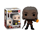 Geralt Igni GitD со стикером GameStop (Эксклюзив GameStop) из игры The Witcher 3: Wild Hunt