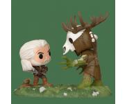 Geralt vs Leshen Game Moments (Эксклюзив GameStop) из игры The Witcher 3: Wild Hunt