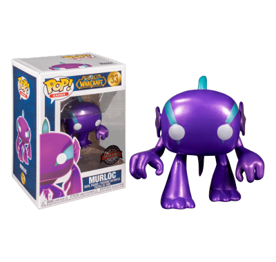 Мурлок фиолетовый металлик (Spectral Murloc Purple Metallic (Эксклюзив)) из игры Ворлд оф Варкрафт
