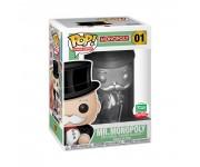 Mr. Monopoly Silver (Эксклюзив) из игры Monopoly