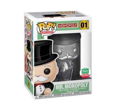 Мистер Монополия (Mr. Monopoly Silver (Эксклюзив)) из игры Монополия