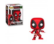 Deadpool with Candy Canes из комиксов Marvel Holiday
