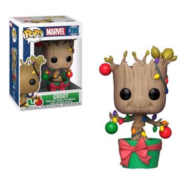 Грут танцующий в украшениях (Groot Dancing with Lights) из комиксов Марвел Праздники