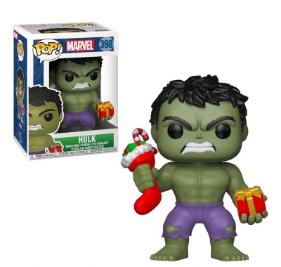 Халк с подарками (Hulk with Presents) из комиксов Марвел Праздники