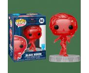 Black Widow Red Infinity Stone Art Series with Protector из фильма Avengers: Endgame 50