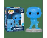 Captain America Blue Infinity Stone Art Series with Protector из фильма Avengers: Endgame 46