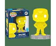 Iron Man Yellow Infinity Stone Art Series with Protector из фильма Avengers: Endgame 47