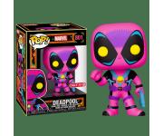Deadpool Black Light со стикером (Эксклюзив Target) из комиксов Marvel Comics