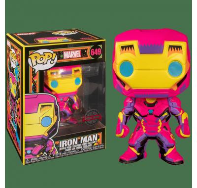 Железный Человек (Iron Man Black Light (Эксклюзив Target)) из комиксов Марвел