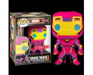 Iron Man Black Light со стикером (Эксклюзив Target) из комиксов Marvel