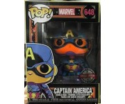 Captain America Black Light (PREORDER Mid-Early June) (Эксклюзив) из комиксов Marvel